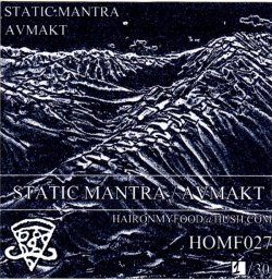 Avmakt / Static Mantra - Split