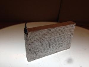 Uvesen III: Encased in plaster for your safety.